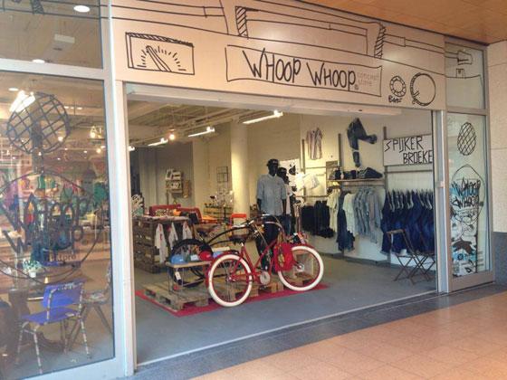 Whoop Whoop Conceptstore in Veenendaal winkelpui