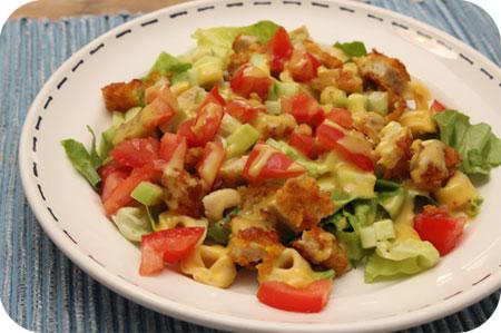 Salade met Kip Krokant