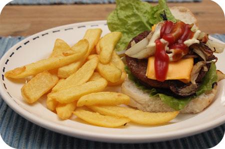 Vegaburgers met Friet