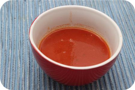 Japans Feest van Gijs tomatensoep